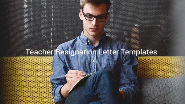 teacherresignationlettertemplate