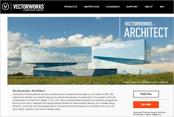 vectorworks architect software for 3d design