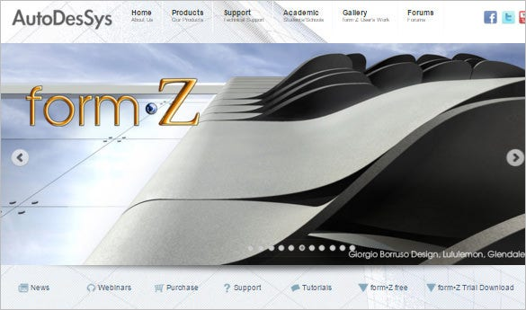 formz 3d modeling software for architect