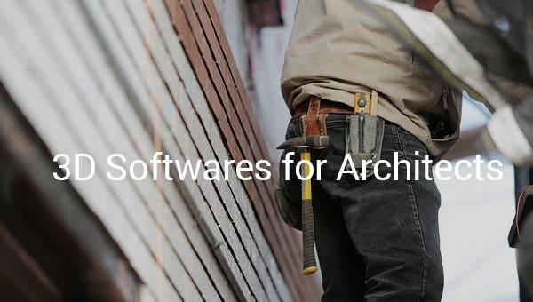3dsoftwaresforarchitects