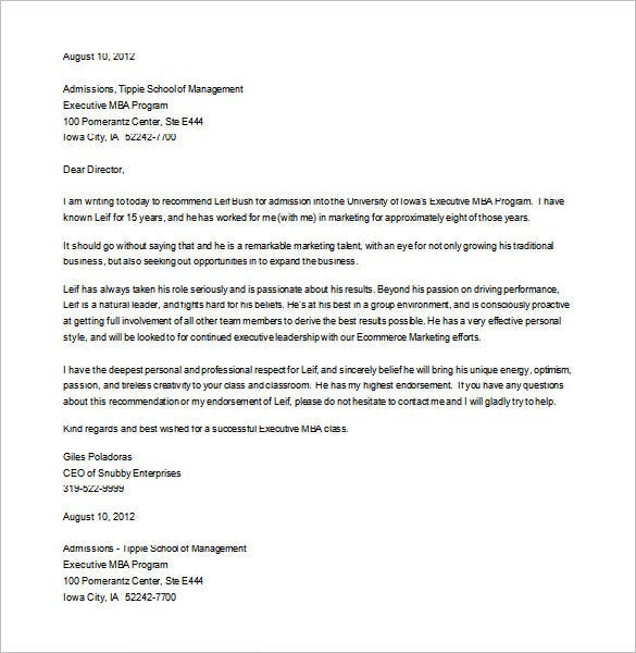 Recommendation Letter Sample For Graduate School Geccetackletartsco - Grad school letter of recommendation template