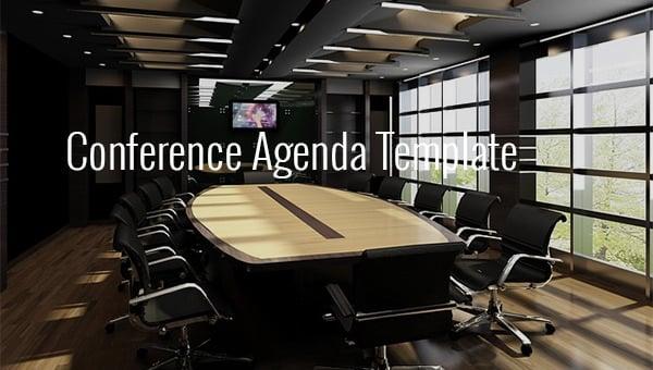 conferenceagendatemplate