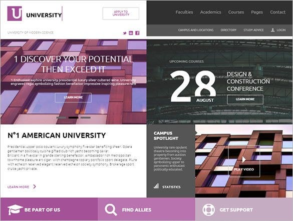education html template download1