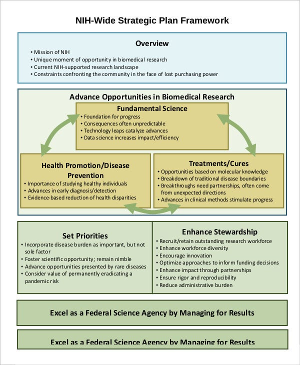 nih wide strategic plan