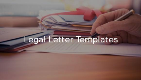 9  Legal Letter Templates