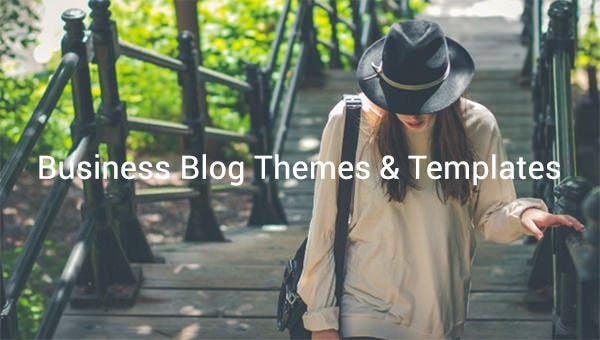 business blog themes templates