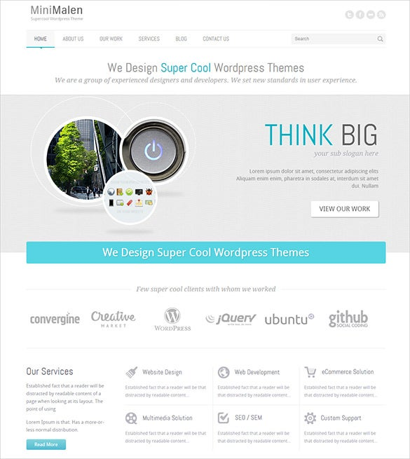 responsive php business template