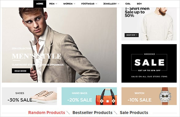 fashion business opencart theme