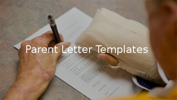 parent letter templates