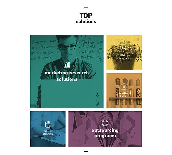 wordpress theme for top solutions