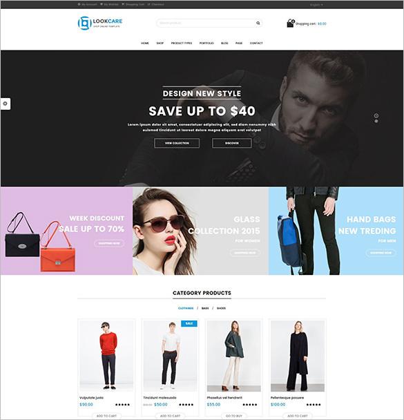 responsive wordpress theme for fashion