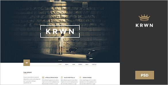 creative business psd template