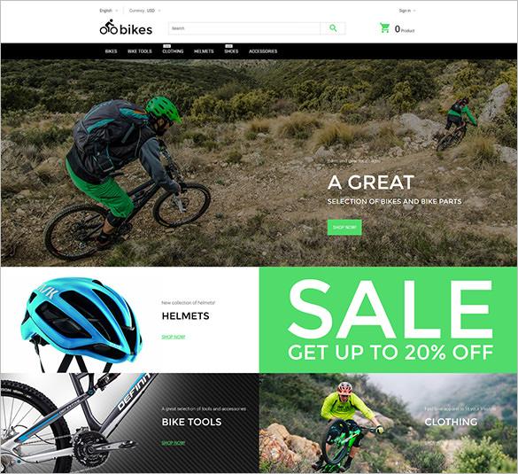 premium cycling blog theme