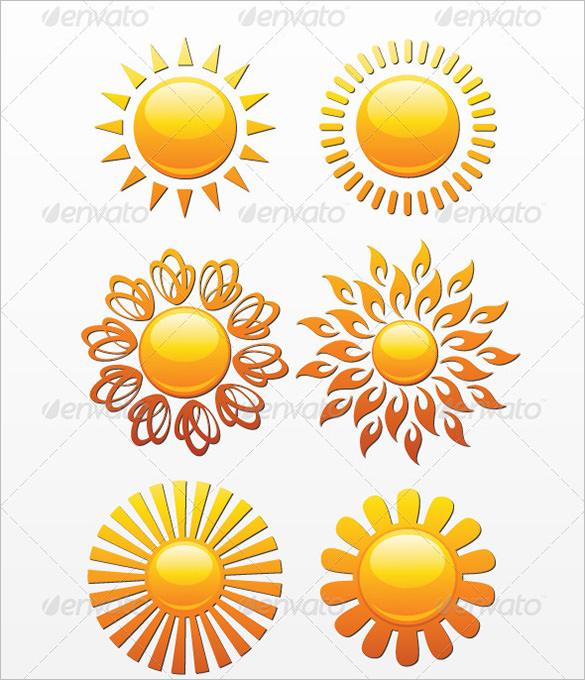 16 premium sun vectors