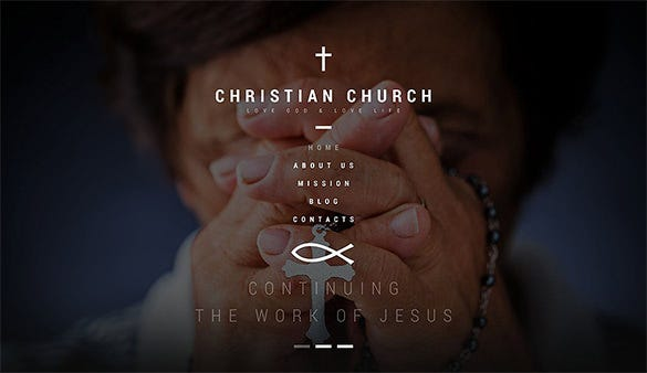 christian bootstrap church theme