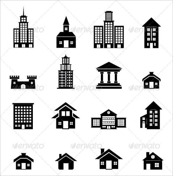 10 amazing building vectors