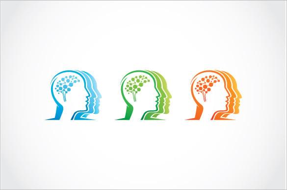 human brain vector template