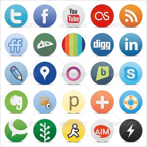 premium social media buttons