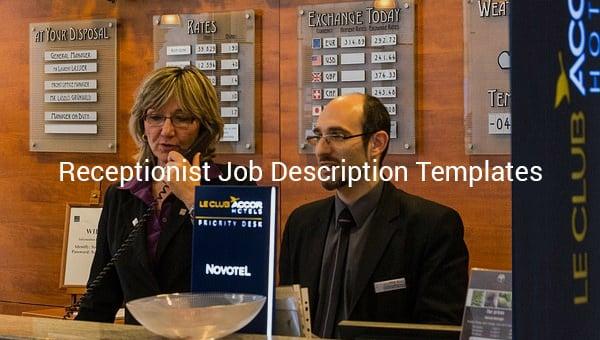 receptionistjobdescriptiontemplate
