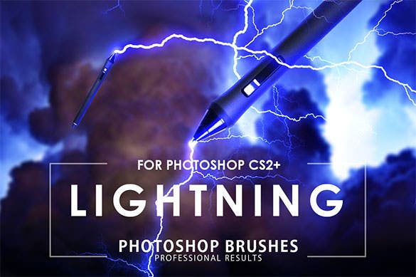 lightning photoshop brushes abr file download
