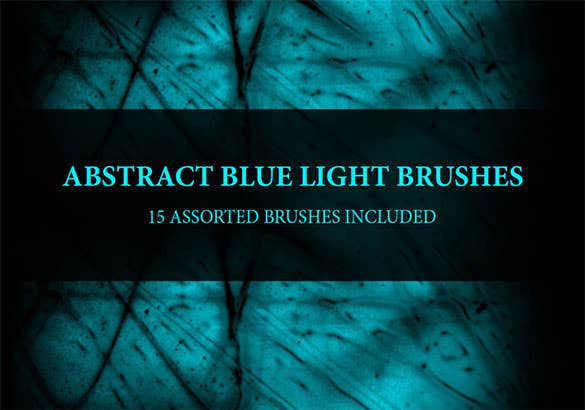 abstract blue lighting brushes download