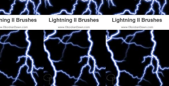 lightning ii photoshop gimp brushes download
