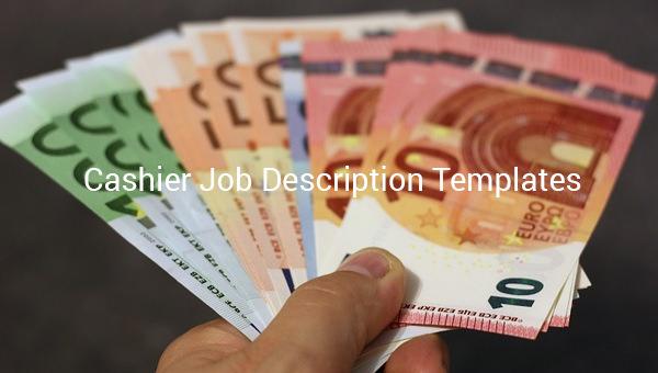 Cashier Job Description Template 12 Free Word Pdf