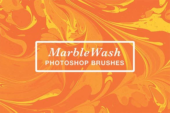premium marblewash water photoshop brushes