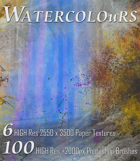 watercolor brushes photoshop abr format