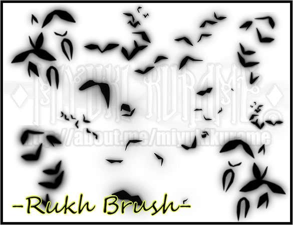 free download photoshop bird brushes design