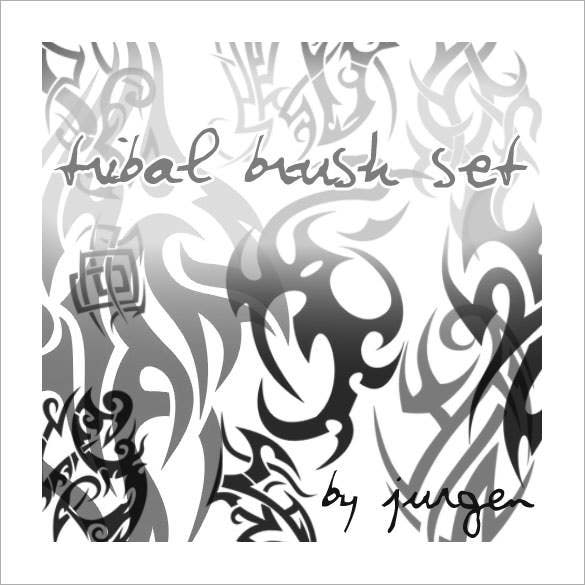 free tattoo tribal brush set download