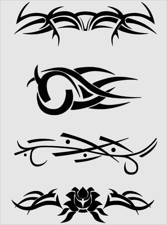 premium download tribal tattoo brush pack