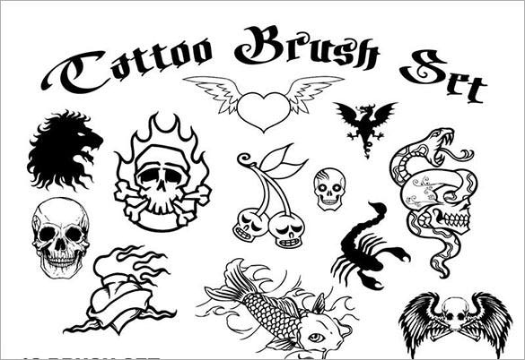 free tattoo brush set abr download