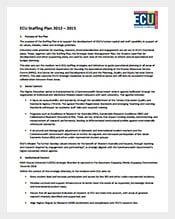 ECU-Staffing-Plan-PDF-Template-Free