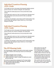 Individual-Transition-Planning-PDF-Template-Free