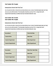 Role-Transition-Plan-Free-Word-Template