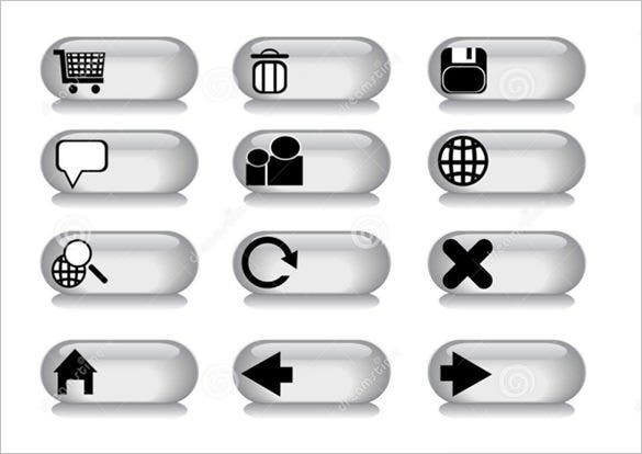 amazing free grey buttons download