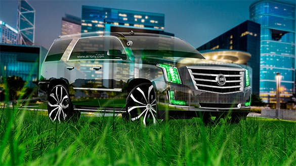 cadillac escalade tuning sport car backgrounds