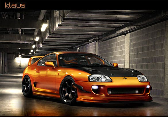 Background Wallpaper Design Of Toyota Supra