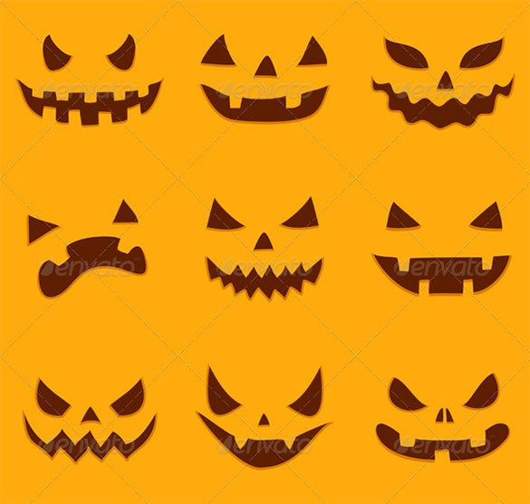 halloween pumpkin carving pattern