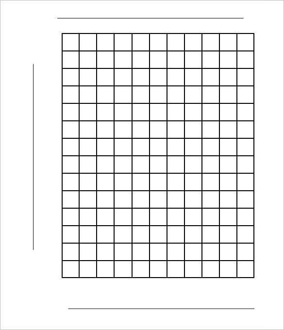 Graph Paper Template 38 Free Word Excel PDF Format Download – Free Graph Template