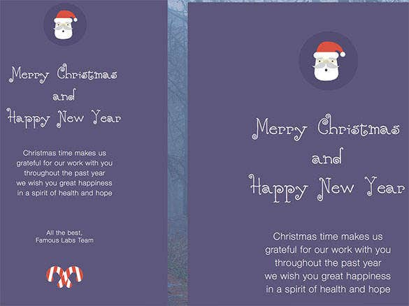 9 christmas card email ecard html format 191