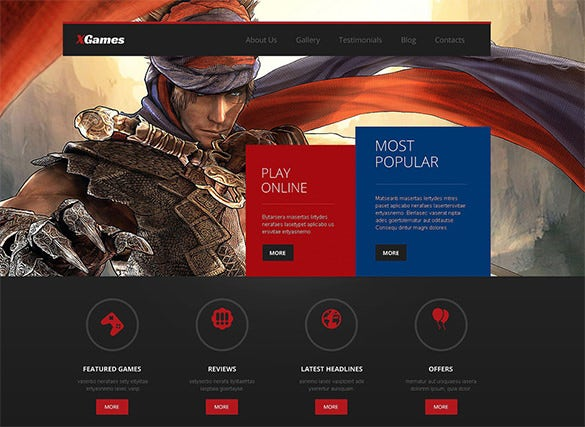 premium gaming blog theme1