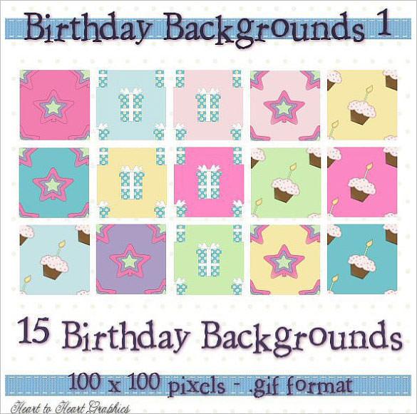 15 digital birthday background designs