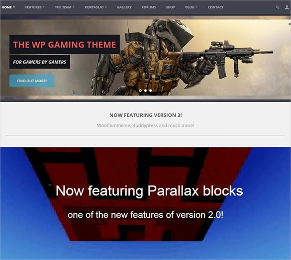 splendid gaming blog template