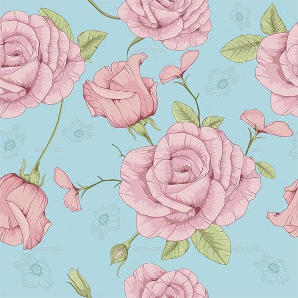 amazing premium rose pattern