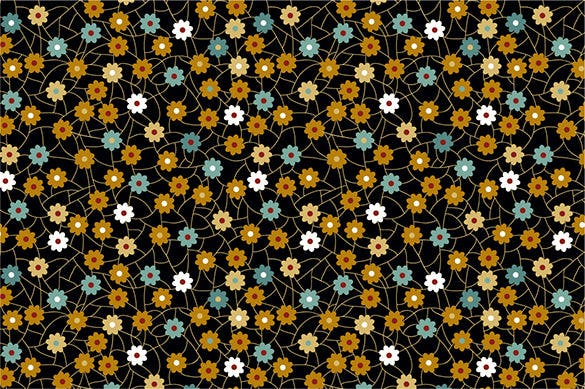 premium vector seamless floral pattern