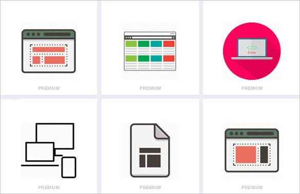 free web design icons download