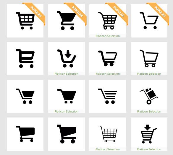 amazing shopping cart icons 1