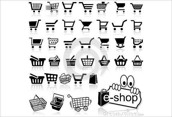 shopping cart icon for free